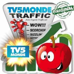 Buy Website Traffic Tv5Monde.com