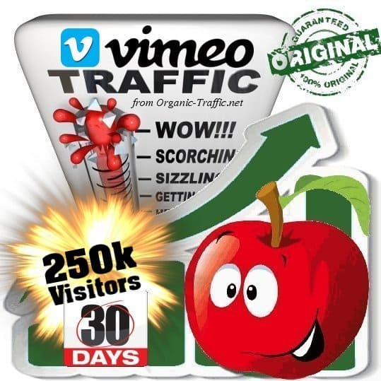 buy 250k vimeo social traffic visitors in 30 days
