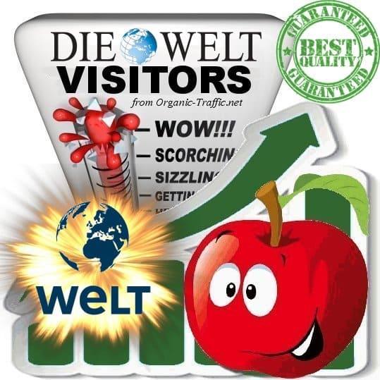 Buy Welt.de Website Traffic