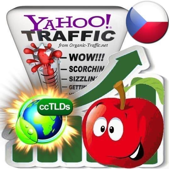 buy yahoo czechoslovakia organic traffic visitors