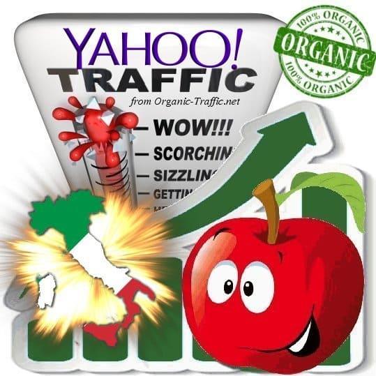Yahoo Italia Web Traffic Service