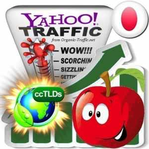 buy yahoo japan organic traffic visitors