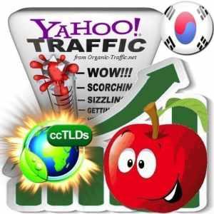 buy yahoo korea organic traffic visitors