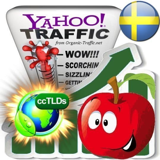 buy yahoo sweden organic traffic visitors