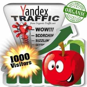 buy 1000 yandex organic traffic visitors