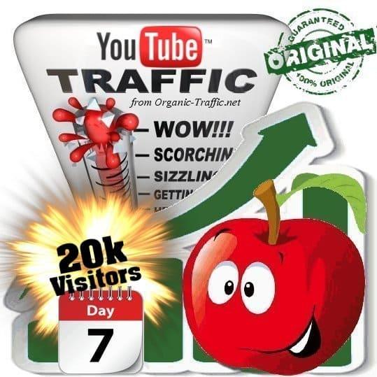 buy 20k youtube social traffic visitors in 7 days