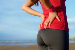 Runner lower back pain injury