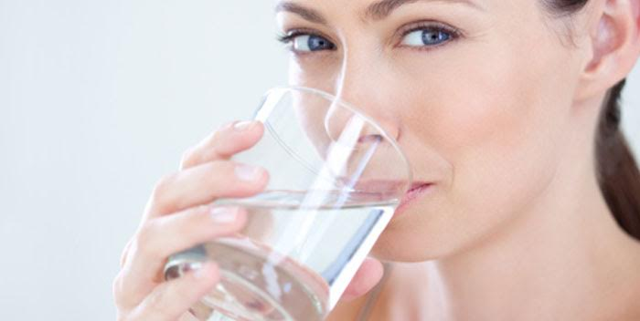 drink plenty of water for your skin