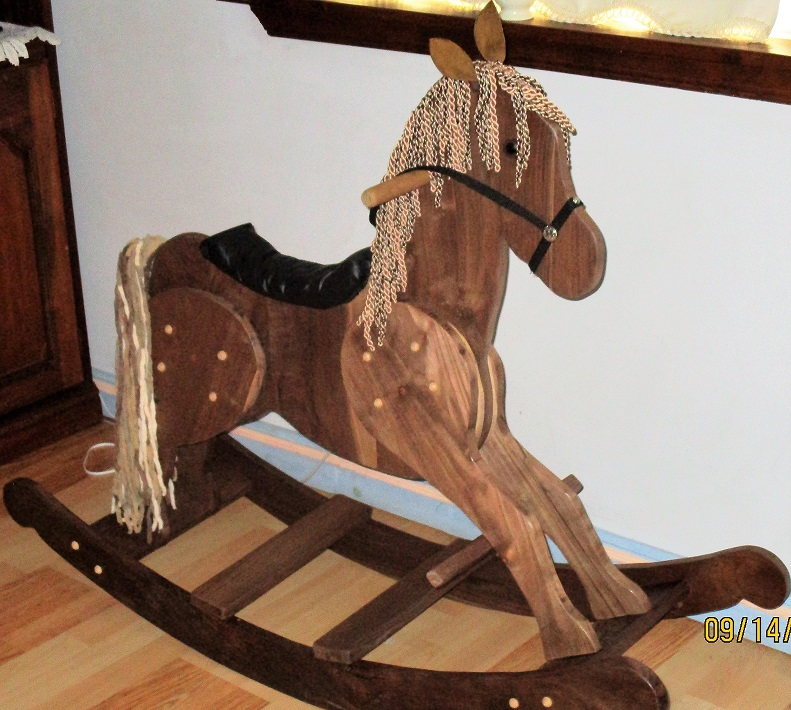homemade-rocking-horse