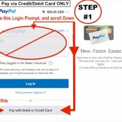 STEP #1 -Pay by CC Card ONLY