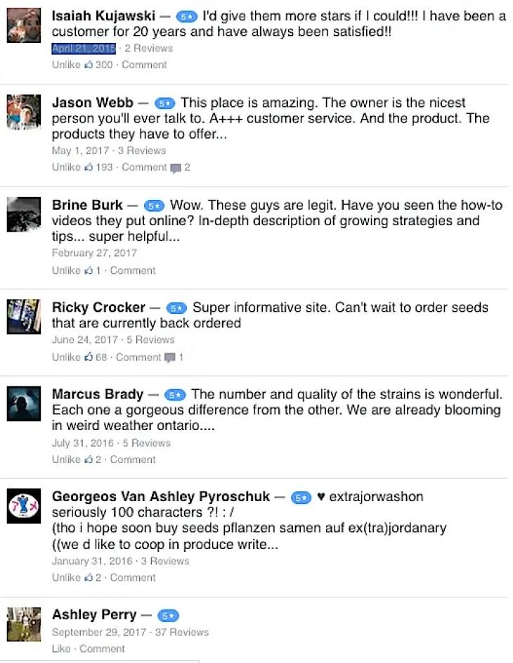 Reviews of Organical Botanicals: