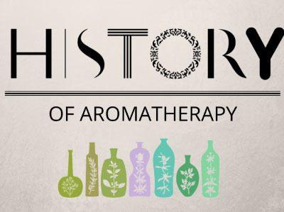 芳香療法的歷史