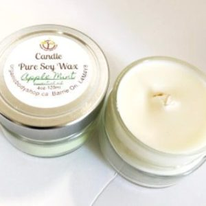 Soy Candle.Essential Oil 4oz ..No Tax