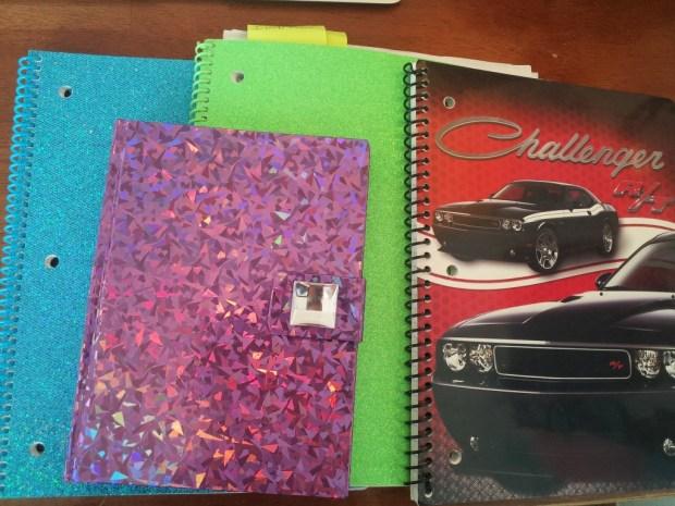 sparkly-notebooks
