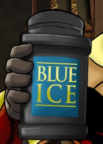 Blue Ice hand