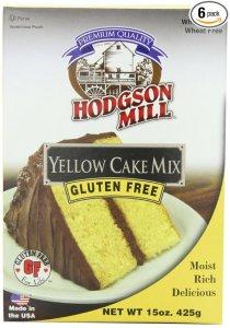 yellow cake gluten free