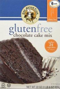 king arthur gluten free chocolate cake mix