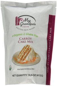carrot cake mix gluten free