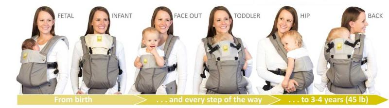 lille baby organic carrier healthy