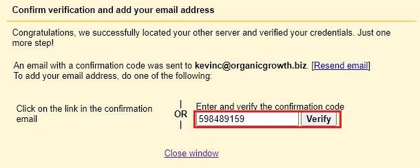 enter verification code2