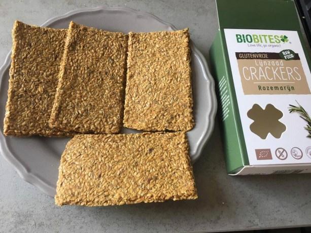 Biobites vegan rozemarijn crackers, Vegan crackers, Rozemarijn crackers, Glutenvrije crackers, Biobites, Biobites crackers, Lactosevrije crackers, organic happiness, biologisch, biologische foodblog