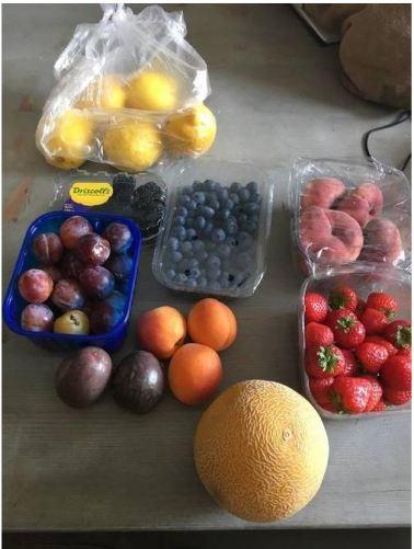 Nectarine recept