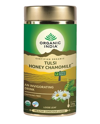 Tulsi Honey Chamomile | Organic India Australia