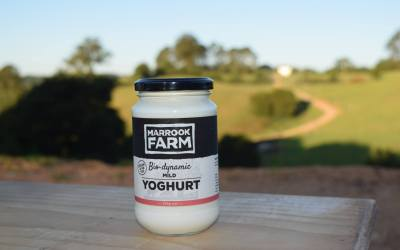 Marook Farm – it's all in the tub!