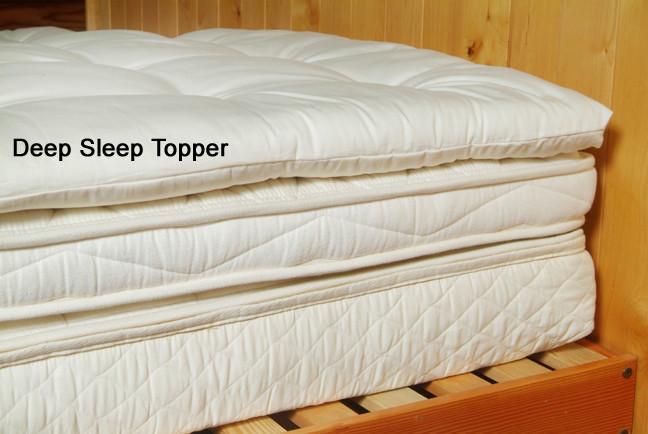 Natural Wool Pillowtop