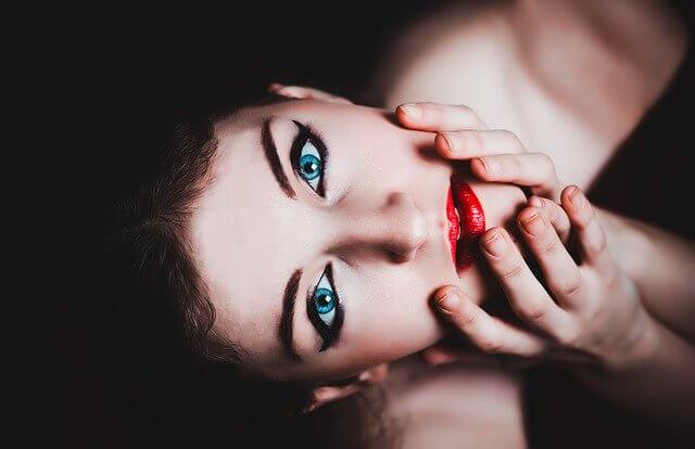 Siniset silmät
