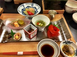 Onsen meal