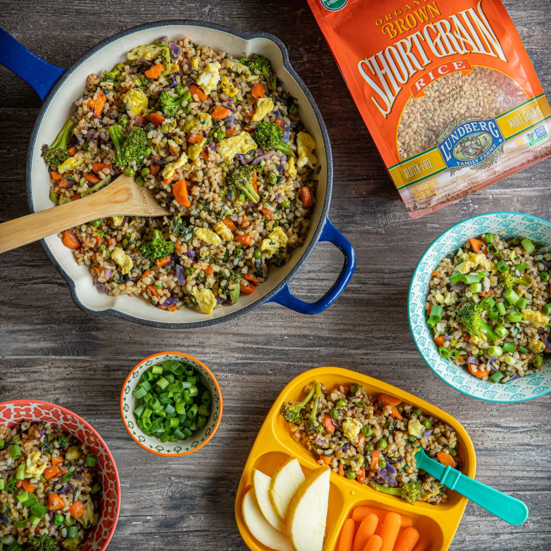 Short Grain Brown Rice - Family-Friendly Fried Rice