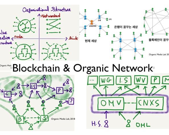 [3월 29일 '열린' 쿠킹클래스] 블록체인과 오가닉 네트워크 (Blockchain and Organic Network)