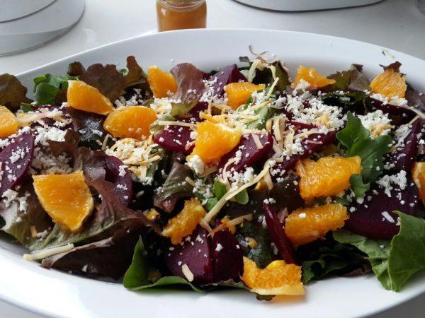 Ensalada fresca de remolacha y naranja (receta de Ivonne Cobo)