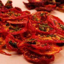 Tomates deshidratados caseros