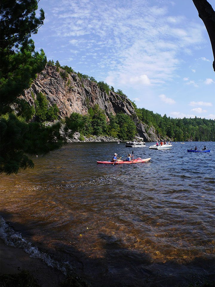 Bon Echo Provincial Park - The Narrows