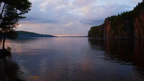 Bon Echo Provincial Park - Sunset