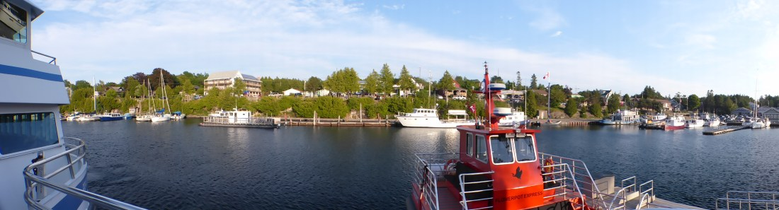 Little Tub Harbour | View from cruise boat deck