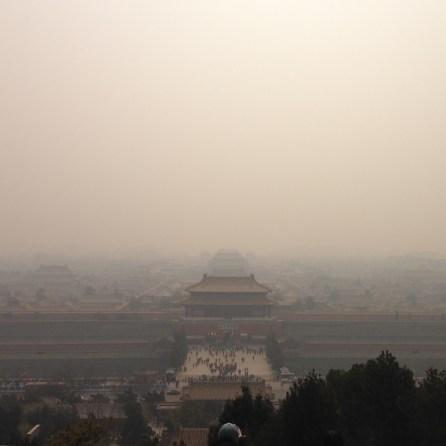 Cité Interdite sous la pollution