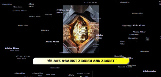 Websites are being hacked by an anti Zionist organization