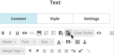 Learn how to copy and paste from Microsoft Word into Mailchimp campaigns and templates