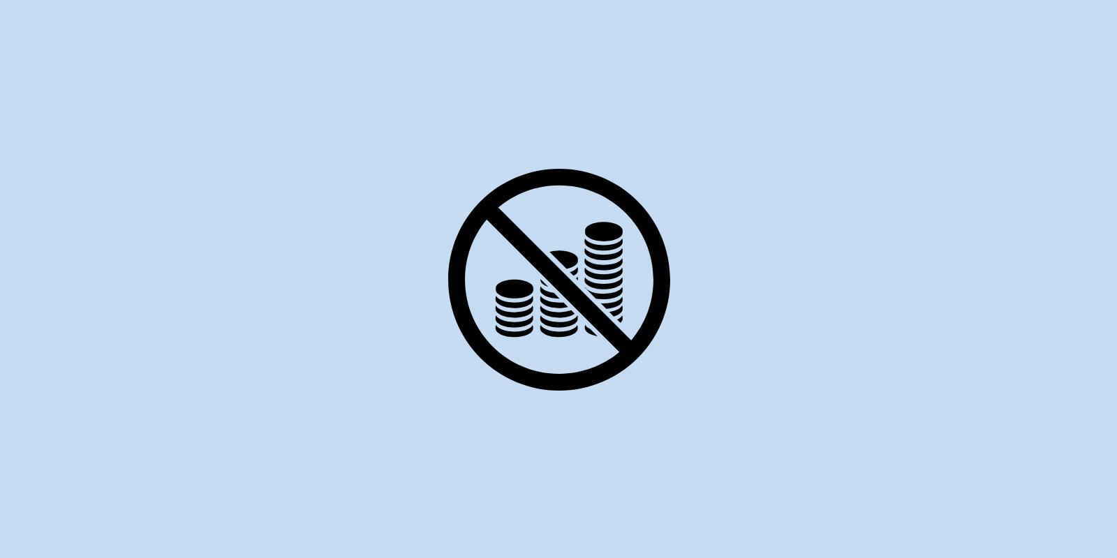 No coins