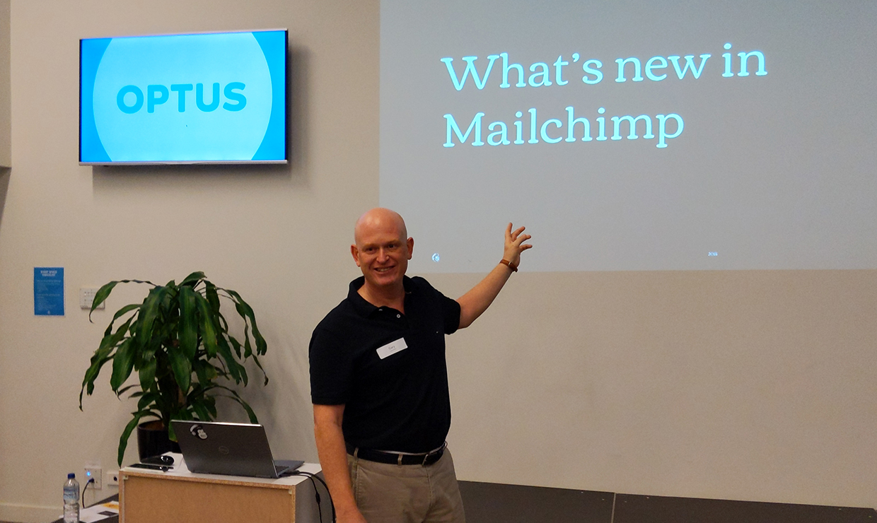 Mailchimp corporate classes in Australia