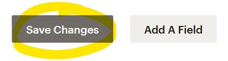 "The Mailchimp ""Save Changes"" button"