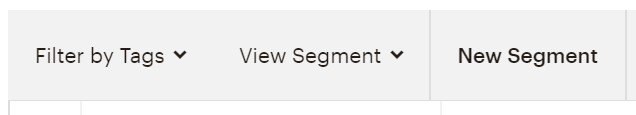 View a Mailchimp segment