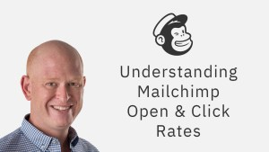 Mailchimp open and click rates