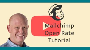 Mailchimp open rate tutorial