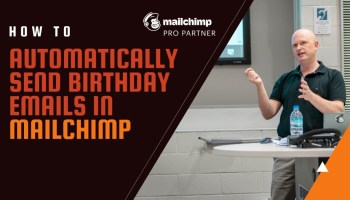 How to create a Mailchimp birthday email series