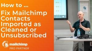 Reverse Mailchimp import