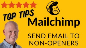 Instructions to send an email in Mailchimp to non-openers